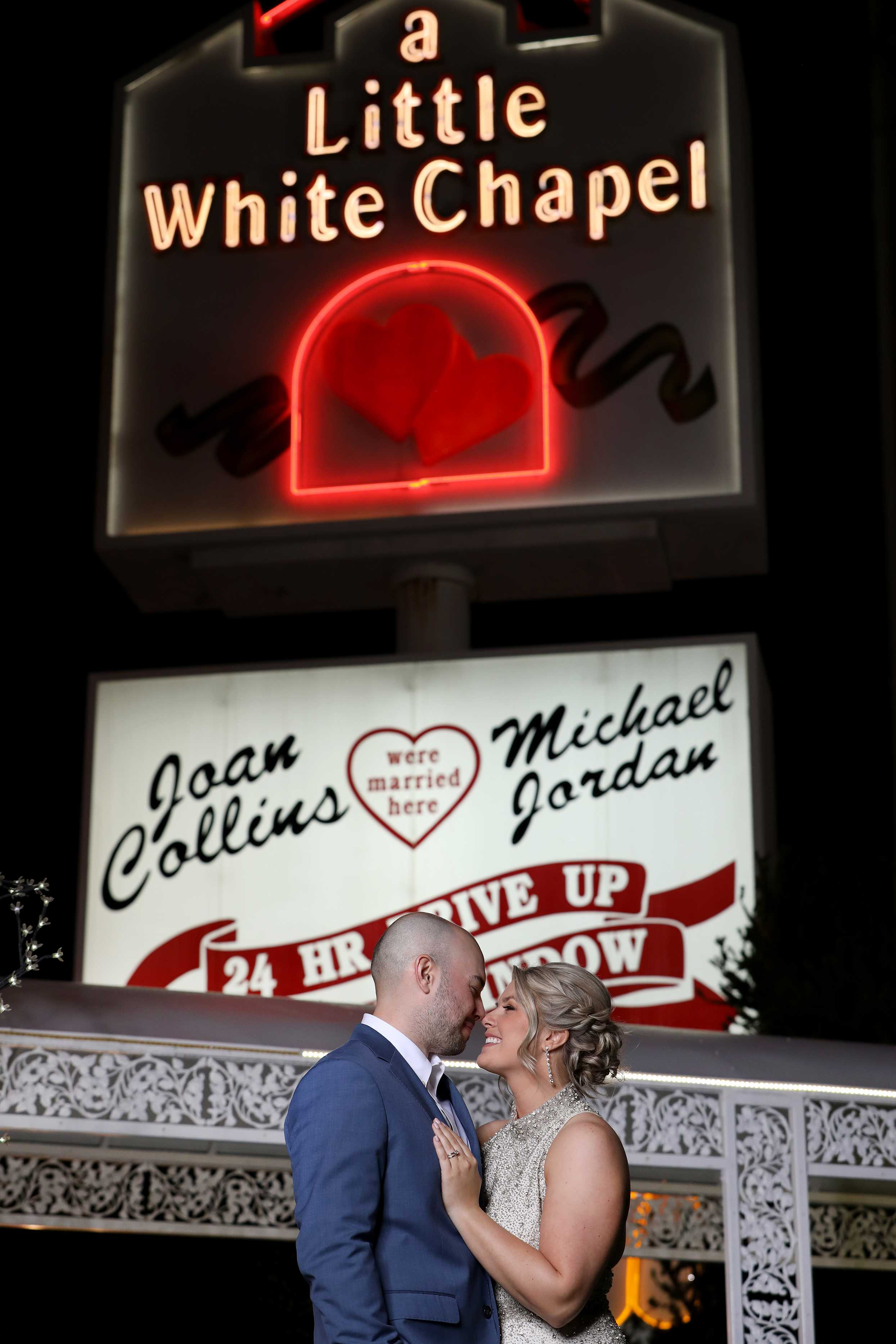 Las Vegas Boulevard Wedding Photography
