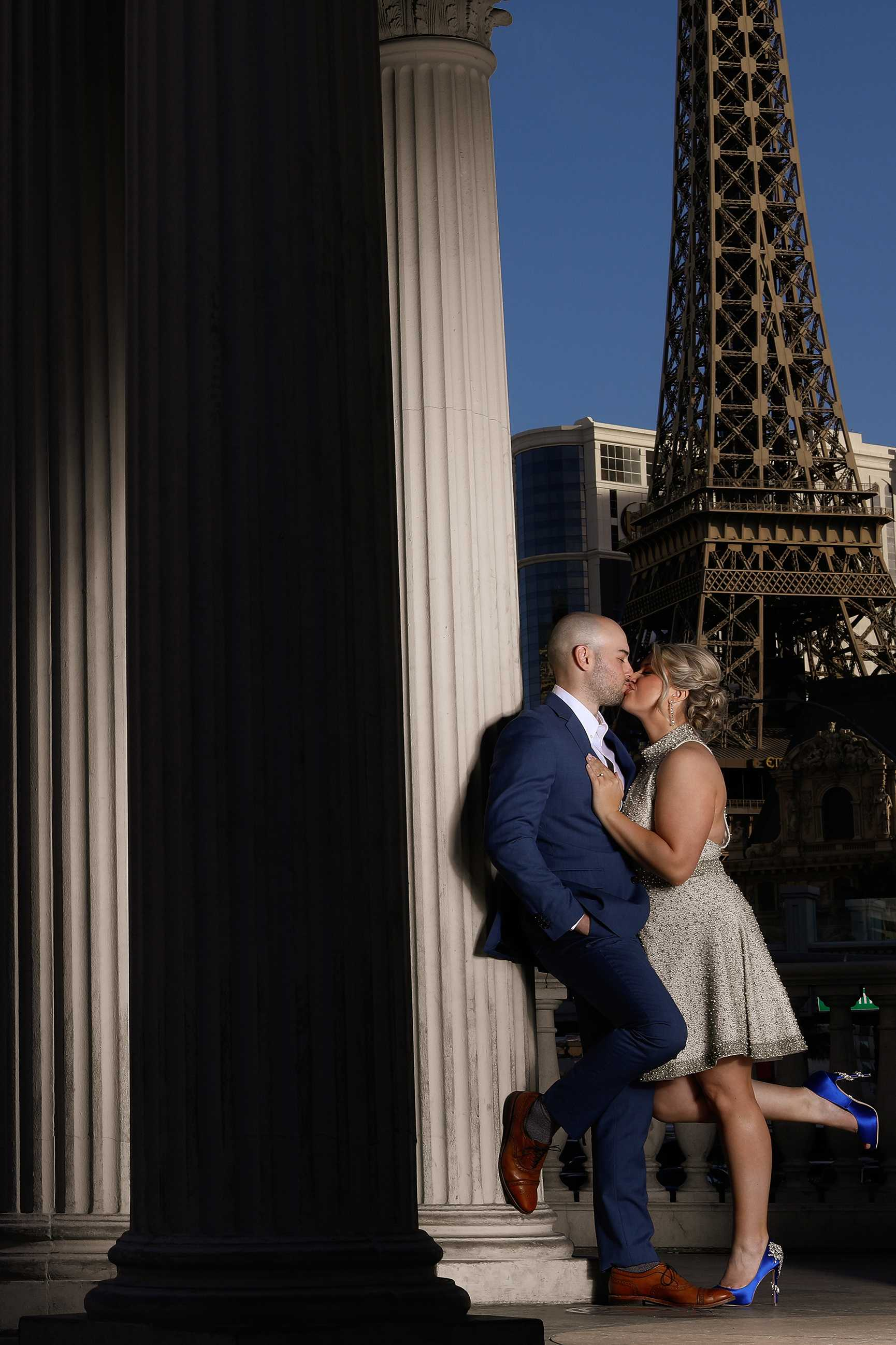 Las Vegas Strip  Wedding Portraits